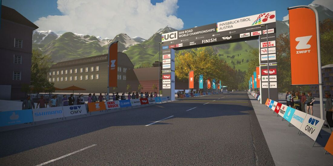 RB Zwift 2018 UCI Road World Championships Innsbruck Tirol