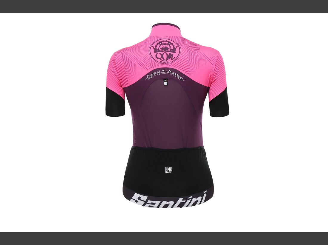 rb-santini-womans-cyclingwear-Trikot-Queen_pink-rear (jpg)